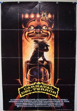 Funhouse  Horror Poster - Spanish